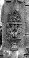Tomba Del Guercio - Teora (Elemento di base dei pilastri d'angolo)