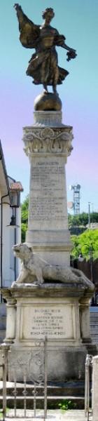 Il monumento ai Caduti della grande guerra: 1915-'18