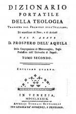 Il dizionario di Teologia
