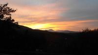 Un bel tramonto da 'li caggi' (gentilmente concessa da Antonio Russoniello) width=