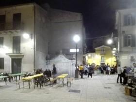 """Festa in Piazza Umberto I a cura del Bar """""""
