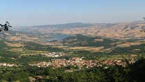 Panorama di Sant'Andrea e Valle dell'Ofanto