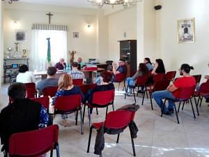 Incontro con la C. R. I. a Sant'Andrea di Conza