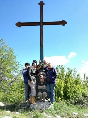 """Pellegrinaggio alla Croce della """"Petina"""""""