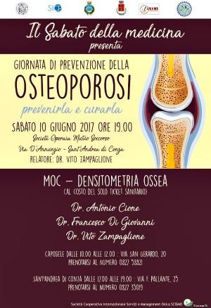 Giornata per la prevenzione dell'Osteoporosi a Sant'Andrea di Conza