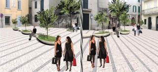 L'ipotesi progettuale della piazza di Sant'Andrea di Conza
