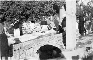 """""""Lu cumende"""" di Sant'Andrea di Conza negli anni '50 - '60 (pubblicata su FB da Luigi Cignarella)"""