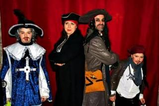 "Un gruppo di ""pirati"" al Carnevale 2018"