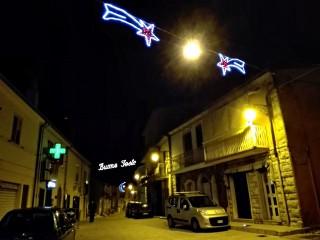Le luci di Natale a Sant'Andrea di Conza