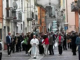 """La processione verso """"la Croce"""""""