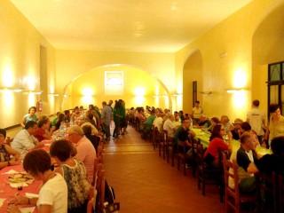 Gli amici di Info Irpinia si rifocillano nel ristorante del Seminario