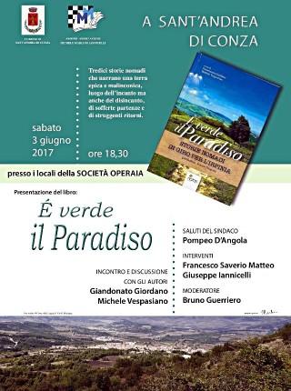 Presentazione  del libro È VERDE IL PARADISO