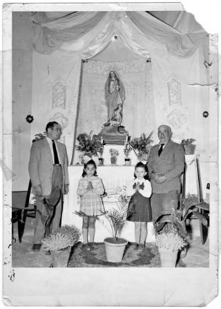 Altarino Mariano in casa Tamburrelli