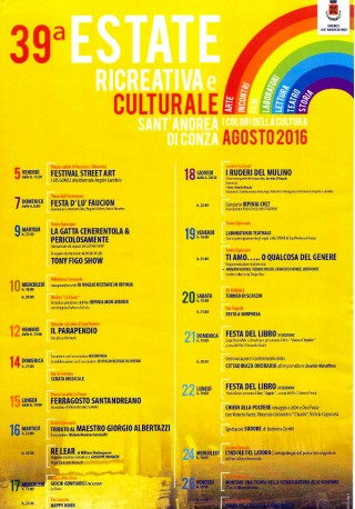 Estate ricreativa e culturale 2016