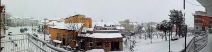 Ancora neve a Sant'Andrea di Conza