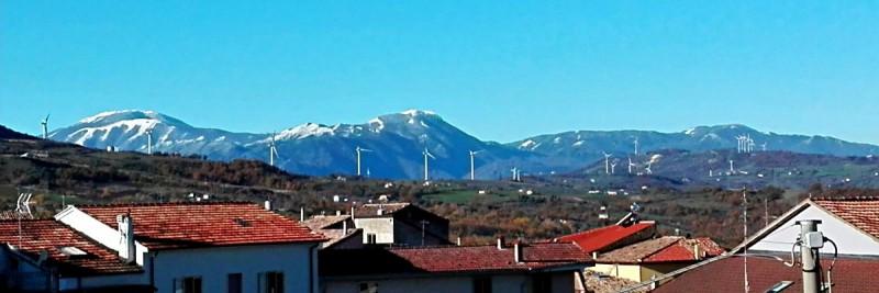 I Monti Picentini innevati