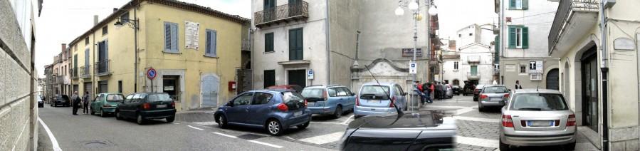 Il parcheggio ... in Piazza