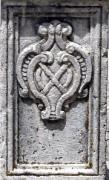 Lo stemma di S. Andrea sulla Croce
