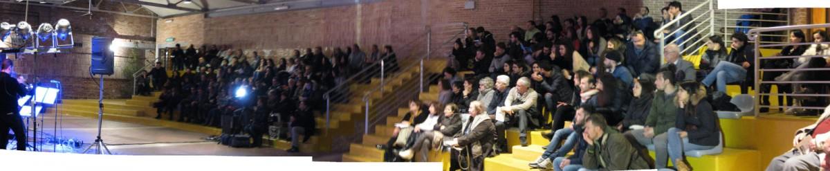 Il pubblico della Fornace durante la serata dedicata a Michele Mariano Iannicelli (1)