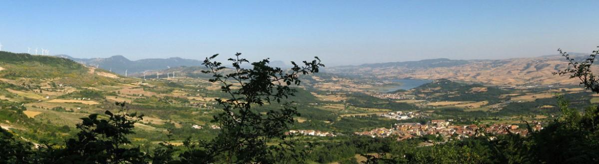 """Valle Ofanto vista dalla """"Loggia"""""""