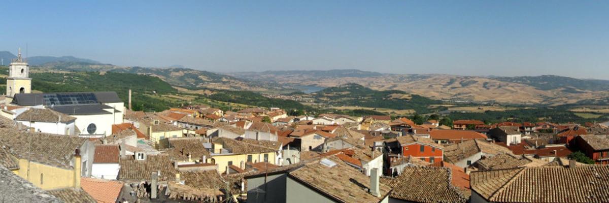 Valle Ofanto vista dal nostro Episcopio