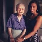 Gina con zia Pinuccia