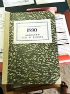 Il registro dei nati nel 1890