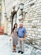 Gina con Donato Cassese