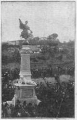 Monumento ai Caduti della grande guerra: 1915-'18 (foto d'epoca)