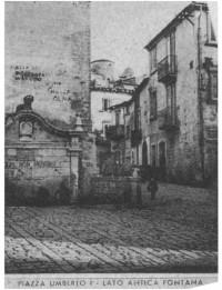Piazza Umberto I negli anni '50