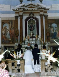 Interno chiesa dell'Incoronata