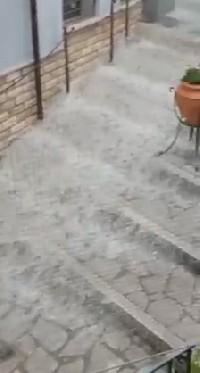 """La """"chiena"""" in Via Sotto Piazza a Sant'Andrea di Conza"""