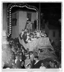 Il carro bianco dell'Immacolata di Sant'Andrea di Conza
