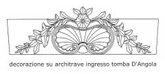 Decorazione su architrave tomba D'Angola