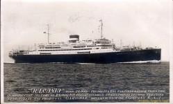 Il transatlantico Vulcania