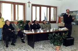 Cerimonia per l'inaugurazione della lapide a Michele Solimene
