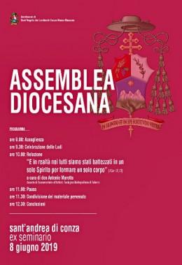 Manifesto di convocazione dell'Assemblea Diocesana nel Seminario di S. Andrea