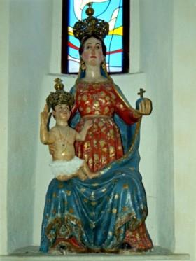 La statua della Madonna delle Grazie a Capodigiano