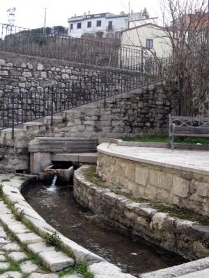 La sorgente del Sambuco, oggi
