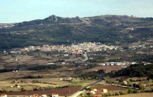 S. Andrea di Conza, panorama da nordovest