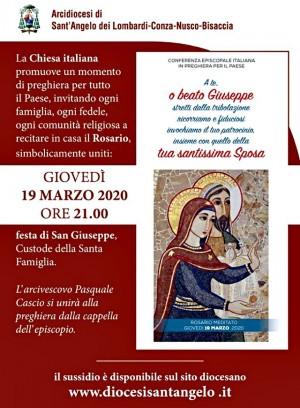 Recita del S. Rosario nel giorno di San Giuseppe
