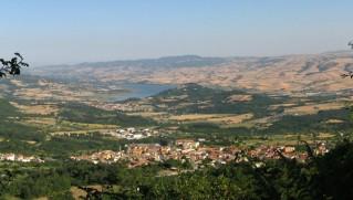 S. Andrea di Conza e la valle dell'Ofanto
