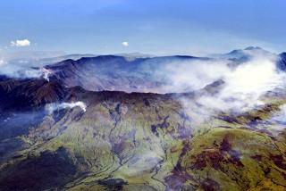 La caldera del Tambora (Wikipedia)
