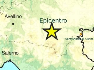 Epicentro terremoto 15 aprile 2020