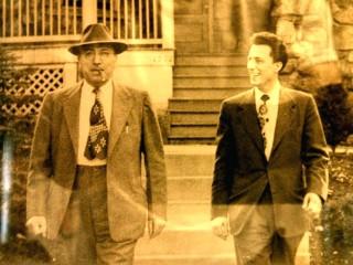 Vinenzo Russoniello e suo figlio Luigi