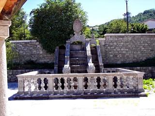La fontana monumentale dell'Episcopio di Sant'Andrea di Conza