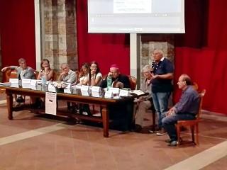 """L'intervento del Prof. Vespucci alla presentazione de """"La collettiva generale di Sant'Andrea di Conza"""""""