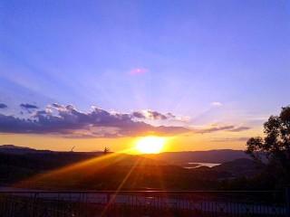 Il bellissimo tramonto del 29 maggio 2017