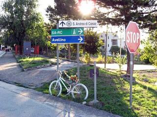 Bicicletta morta, vicino al Cimitero