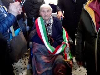 Maria Rosaria Lanza ha compiuto cento anni